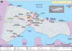 Nuku'alofa City Map - Digital File