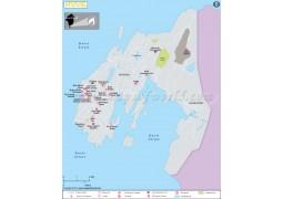 Nuuk Map - Digital File