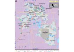Orlando City Map