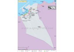 Papeete City Map - Digital File