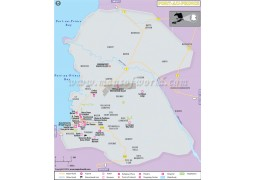 Port Au Prince Map - Digital File