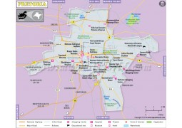 Pretoria City Map - Digital File