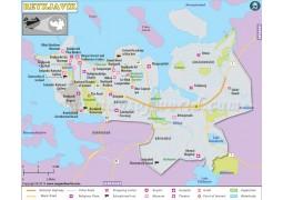 Reykjavik Map - Digital File