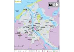 Riga Map - Digital File