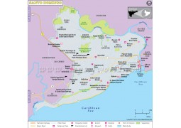 Santo Domingo Map - Digital File