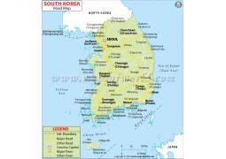 South Korea Road Map