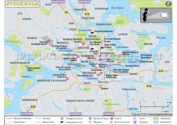 Stockholm Map - Digital File
