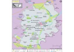 Turin Map - Digital File