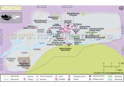 Ulan Bator Map - Digital File