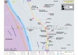 Vaduz City Map - Digital File