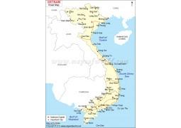 Vietnam Road Map - Digital File