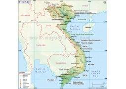 Vietnam Map - Digital File