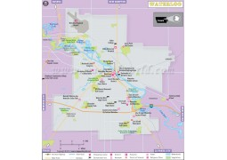 Waterloo City Map - Digital File