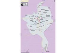 Yaounde Map - Digital File
