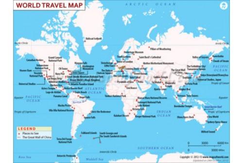 World Travel Map