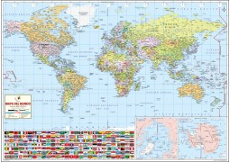 World Map – Spanish - Digital File