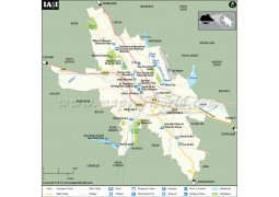 Iasi Map - Digital File