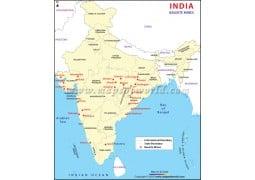 India Bauxite Mines Map