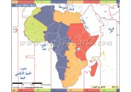 Africa Time Zone Arabic