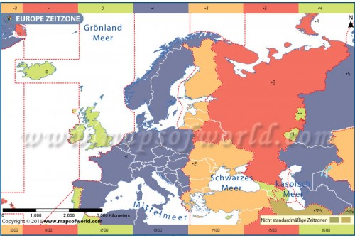 Europe Time Zone German