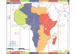Africa Time Zone Hindi