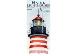 Maine Lighthouses map