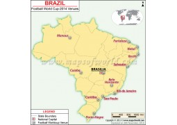 Brazil Football Team Journey Map in FIFA - Digital File