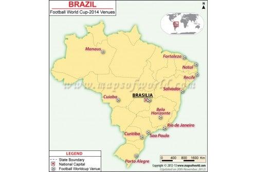 Brazil Football Team Journey Map in FIFA