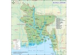 Bangladesh Digital Map