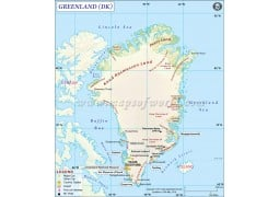 Greenland Map - Digital File