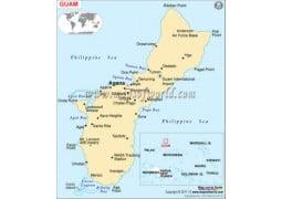 Guam Map - Digital File