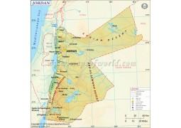 Jordan Map - Digital File