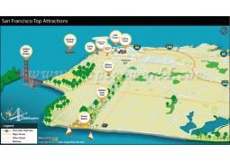 San Francisco Tourist Map - Digital File