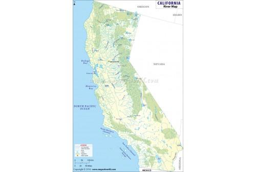 California River Map
