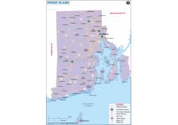 Map ofRhode Island
