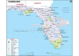 Map of Florida - Digital File