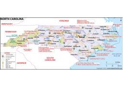 Map ofNorth Carolina