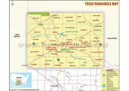 Texas Panhandle Map