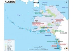 Map of Alaska - Digital File