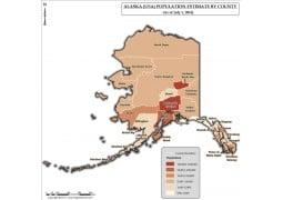 Alaska Population Estimate By County 2016 Map