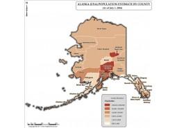 Alaska Population Estimate By County 2016