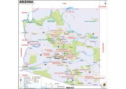 Arizona Map - Digital File