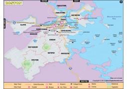 Boston City Map