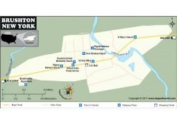 Brushton Village Map, New York - Digital File