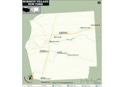 Burdett Village Map, New York - Digital File