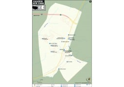 Calcium Map, New York - Digital File