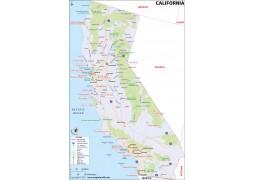 California Map - Digital File