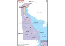Delaware Road Map