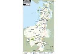 Everett Map, Washington