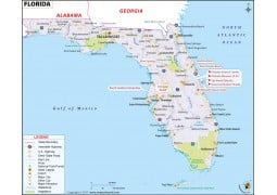Reference Map of Florida - Digital File